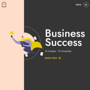 business-success header module
