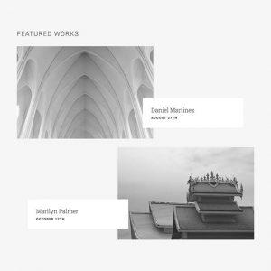 architecture-portfolio content module
