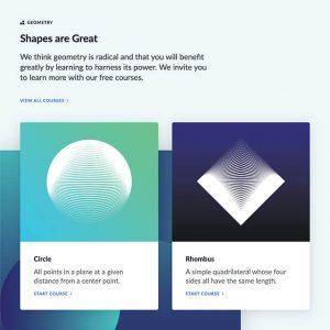 geometry-grid content module