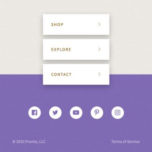 pronto footer module